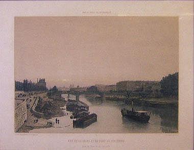 PHILIPPE BENOIST (1813-1880), 'Vue de la Seine',