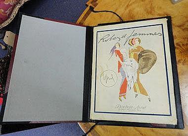 ENRICO SACCHETTI (1877-1967), 'Robes et Femmes',