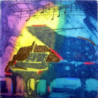 SIMON BULL (20th/21st century), 'Variations',