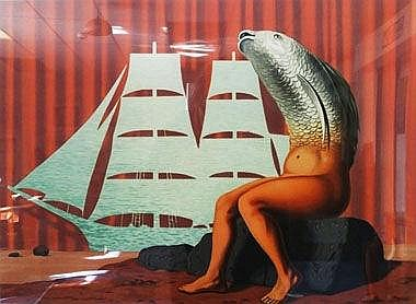 RENE MAGRITTE, 'La Domaine Enchanté IV',