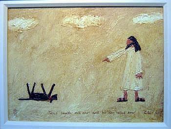 GARY BUNT (b.1957, British), 'Thou shalt roll
