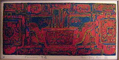 SHIOU-PING LIAO (b.1936 Taiwan), 'L'encensoir'