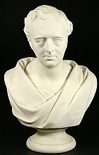 Wedgwood Parian bust, G Stephenson