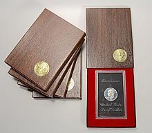 (5)Eisenhower Dollar United Sates Proof Set, 1971