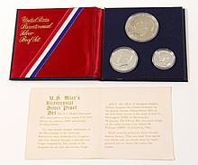 Bicentennial Proof SIlver Coin Set, 1776-1976