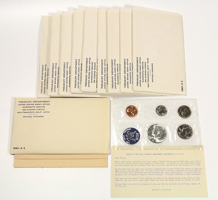 (10) United States Special Mint Sets