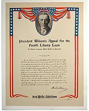 WWI President Wilson's Appeal for 4thLiberty Loan