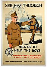 WWI See Him Through, Help Us to Help the Boys