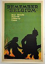 WWI Remember Belgium, 4th Liberty Loan, Young
