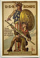 WWI Boy Scouts, Third Liberty Loan, Leyendecker