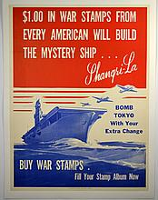 WWII $1 In War Stamps From Every American