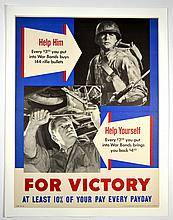WWII Help Him, Help Yourself, For Victory