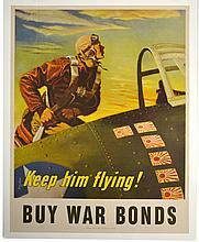 WWII Keep Him Flying, Georges Schreider