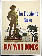 WWII For Freedom's Sake, John Atherton, Large