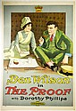 Movie Poster, 'The Proof
