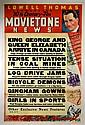 Movie Newsreel Poster,