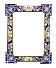Champlevé Bronze French Frame, ca. 1890