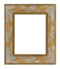 Early 20th century Art Nouveau Carved Mirror Frame