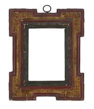 17th Century Spanish Polychrome Frame