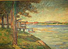 Lot 33: PIETRO MARUSSIG (Trieste 1879 - Pavia 1937)