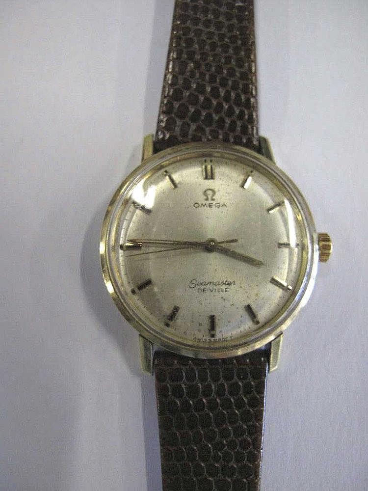 Omega Seamaster Deville vintage man's wristwatch
