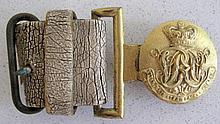 Early Royal Mail Steam Packet  Company buckle