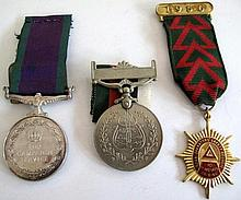 General Service Medal 1962 rim marked Collectors Item with Pakistan Repulic