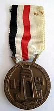 WW11 Italian/German Africa campaign medal design by Lorioli Milano signed