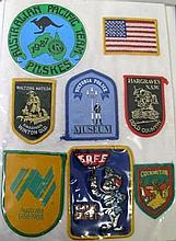 Album advertising patches includes Rosella, Bisto with Travel Welsh, etc (1