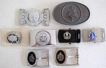 Three Queensland police buckles with NT, SA, Commonwealth of Australia and