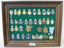 Panel Masonic badges