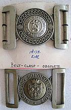 Irish Eire Police belt buckle with Stockport Borough Police (Manchester UK)