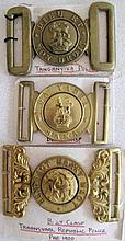 Early Transvaal Republic Police pre 1900 buckle with Sa Yadra Saka and Tang