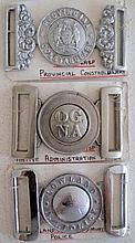 Rare Native Police belt buckles includes OG. N.A police buckle, Lowland N.A