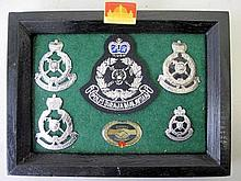 Malaysia Police Force panel of cap badges