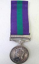 Palestine Police Medal W.D.Dorricott