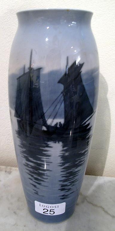 Bing & Grondahl porcelain vase
