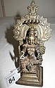 Small antique Indian bronze figure 11.5cms ht