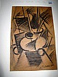 Lyubov Popova Russia1889-1924 Charcoal on paper