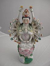 Vintage Chinese porcelain figure 21cms Ht