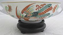 Qing Dynasty Famille rose bowl, decorated with