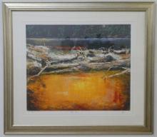 Geoff Dyer 'King River Tasmania' ltd edition print