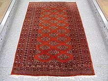 Tribal wool floor rug 190cms x 125cms