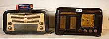 Fada brown Bakelite and Astor swan dial