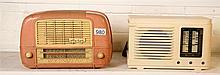 Astor pink and Clipper valve Radios af