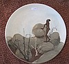 Martin Boyd Aboriginal studio pottery plate signed measures 24cms, Martin Boyd, Click for value