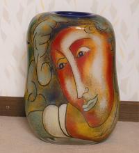 Ada Loumani (né en 1959) - Peintre et verrier français