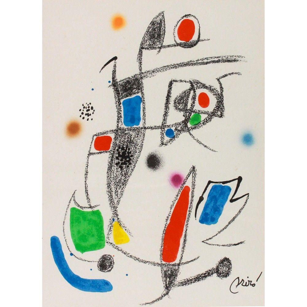 Joan Miro - Maravillas Con Variaciones - Signed