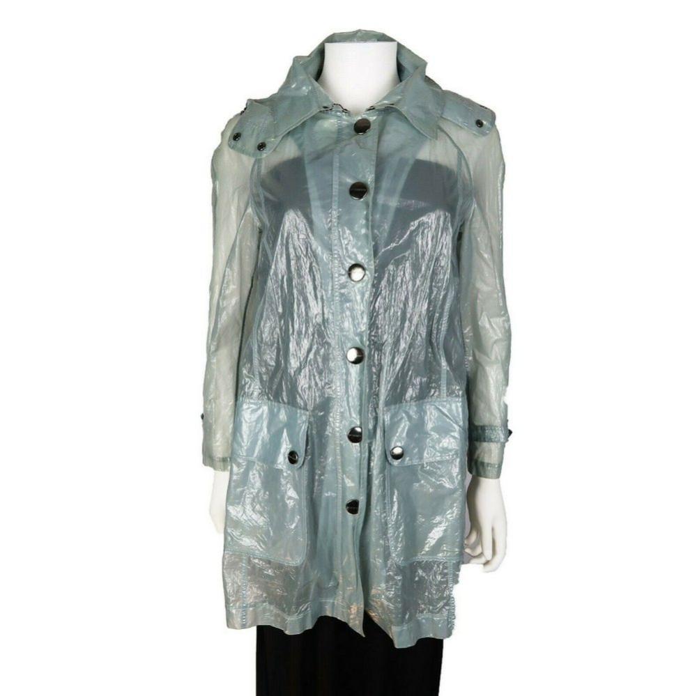 Burberry London - Rare Clear Blue Raincoat Jacket