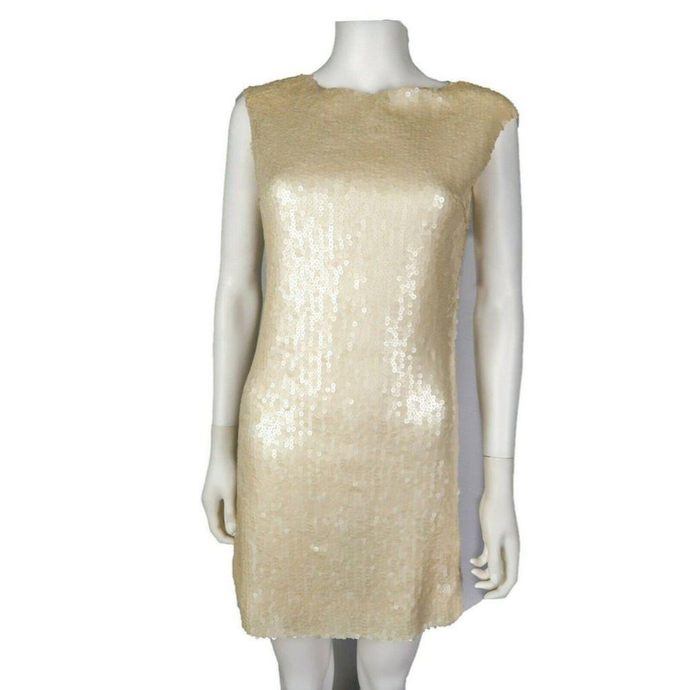 Chanel - Sequin Dress - Cream White - US 4 - 36 - 2007